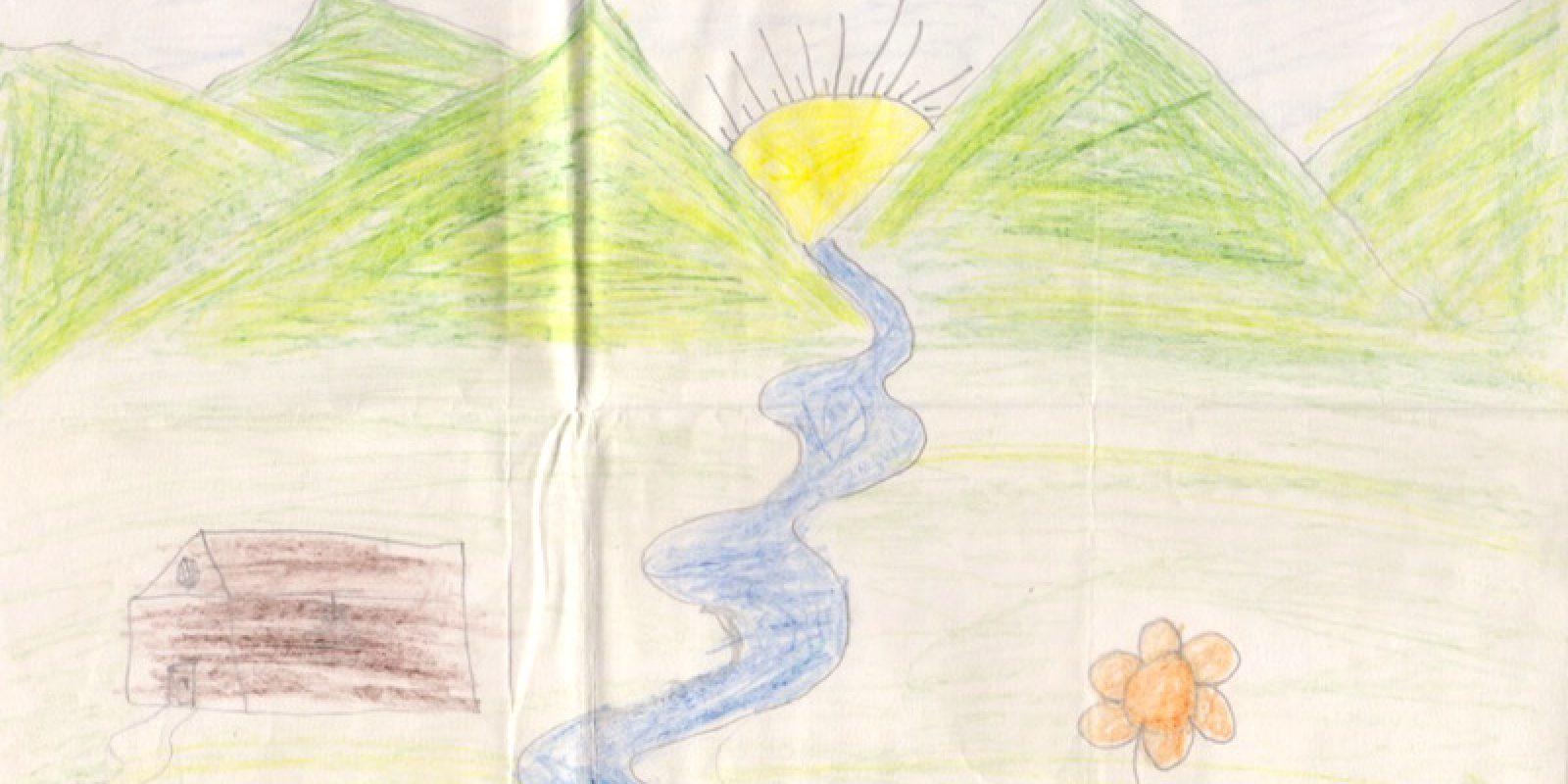 Dessin de Tenzin Thutop (2008, 8 ans)