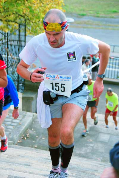 Photo dePhilippe Bouorn qui coure