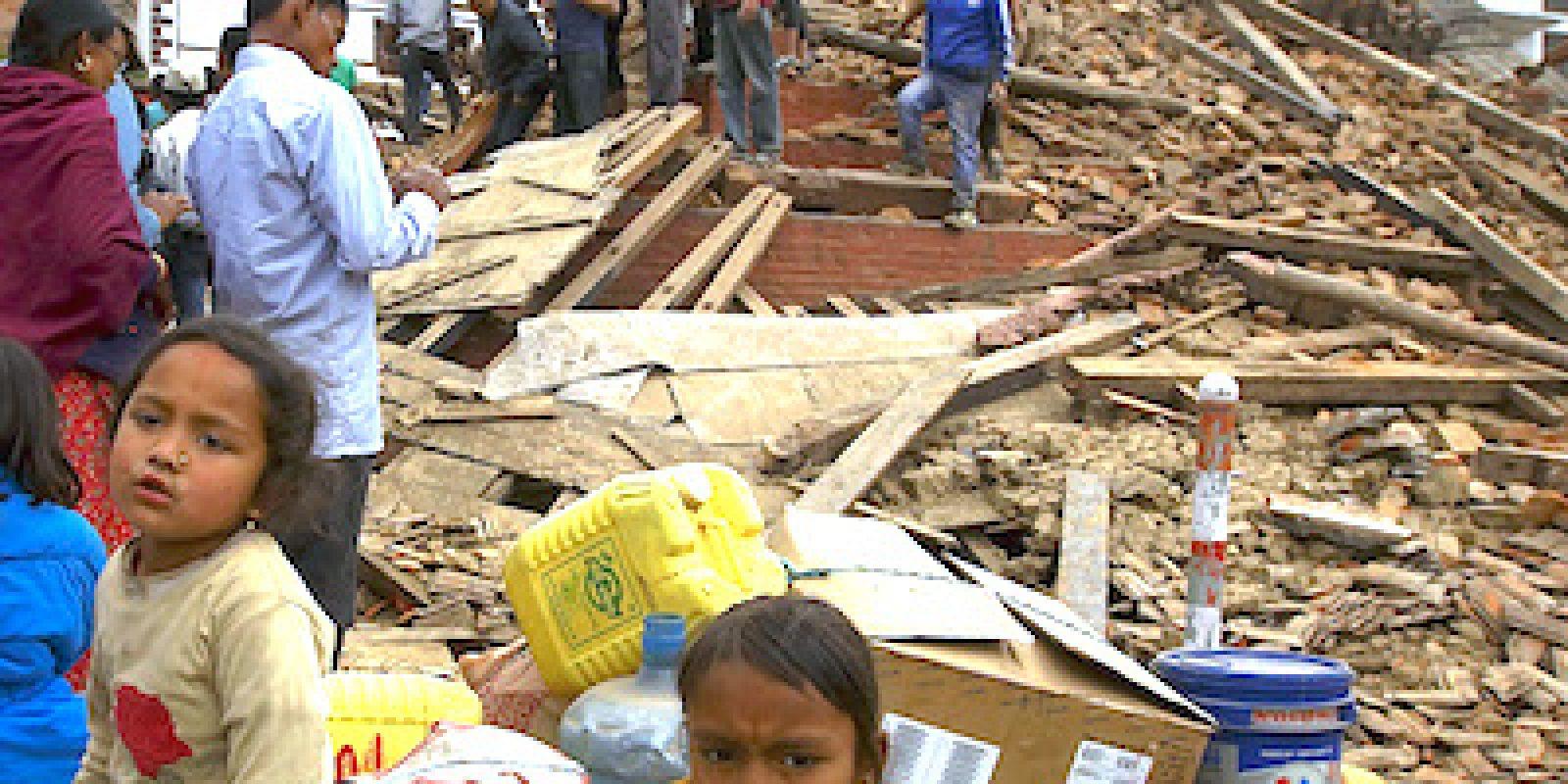 Urgence Népal, séisme, 2015