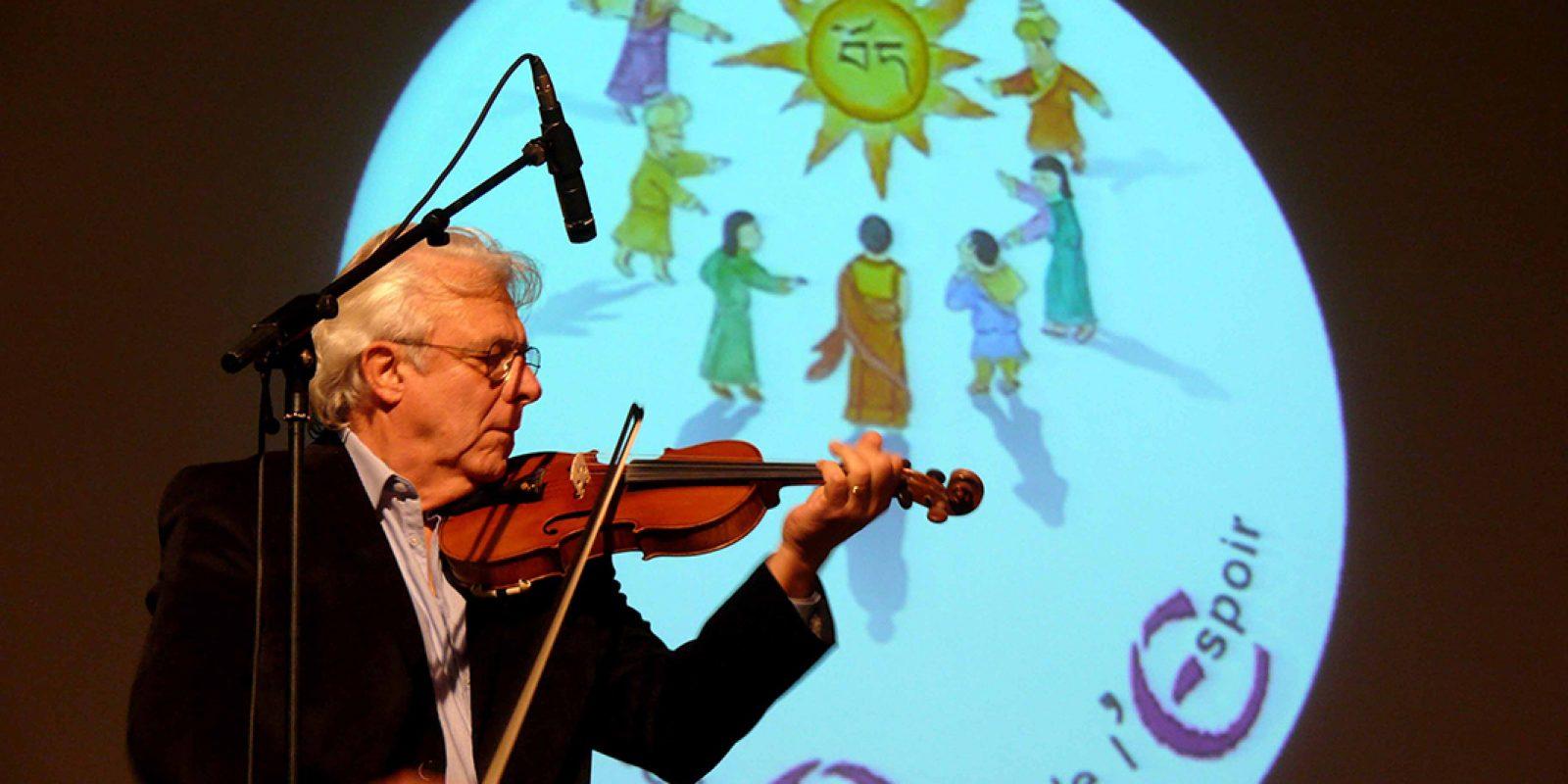 Jean-Michel Luquet nous a fait partager ses improvisations musicales.