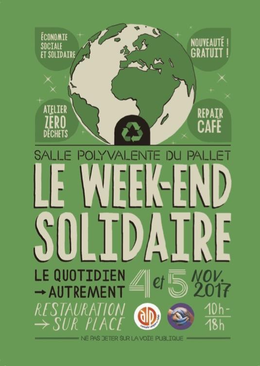 Affiche Marché du Pallet (novembre 2017)