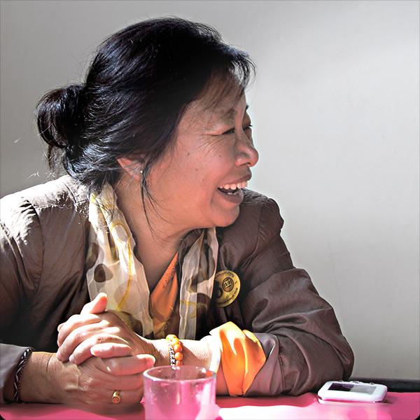 "Phurbu, fondatrice de ""Tibet — les Enfants de l'Espoir"""