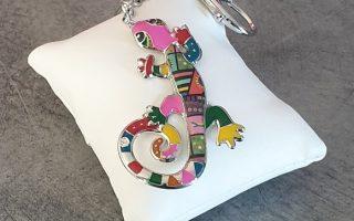 289195-porte-cle-bijou-de-sac-salamandre-coloree