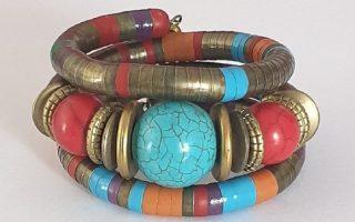291818-bracelet-serpent-tibetain-bronze-et-turquoise