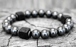 305838-bracelet-en-hematite-et-pierre-de-lave-carre