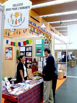 """Juin 2010 : """" Forum Mondial des droits de l'Homme """" (Nantes)"""