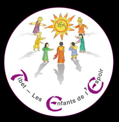 """Logo """"Tibet - les Enfants de l'Espoir"""""""