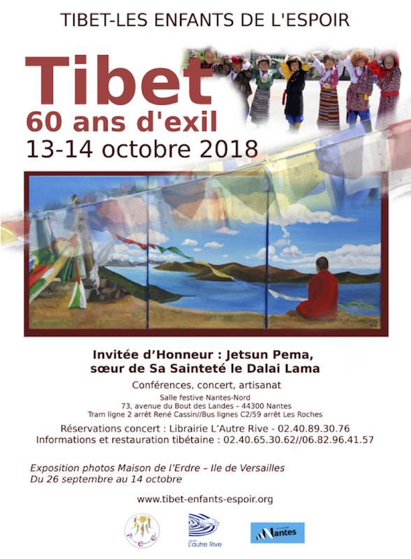 """Chargement de la couverture du Programme """"60Ans pour le Tibet"""" Merci de patrientez"""