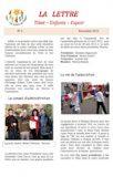TEE La lettre n°02<BR/><i>(Novembre 2012)</i>