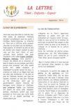 La lettre N°11<BR/><i>(Septembre 2014)</i>