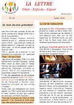 TEE La lettre n°25 (Avril 2018)
