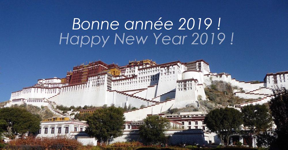"""Voeux 2019 de l'association """" Tibet les Enfants de l'Espoir"""""""